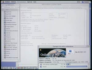 PM5400 Ecran